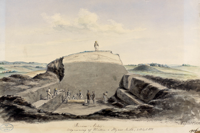 Udgravningstegning