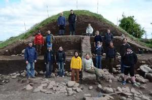 Fra en mindre udgravning i 2011.