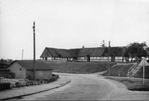 Måske Borums flotteste gård: den særdeles velbevarede Langelinie 62.