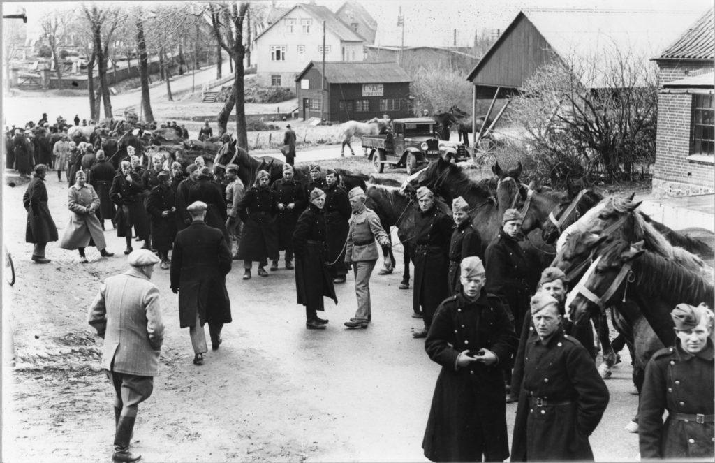 Fra Aarhuus Stiftstidende 16. april 1940.