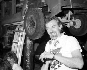 Fest i Kims Garage omkring 1990. Foto: Peter Poulsen