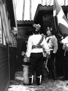 Soldaterne modtages her af Peter Sørensen på Møllevejen 15.